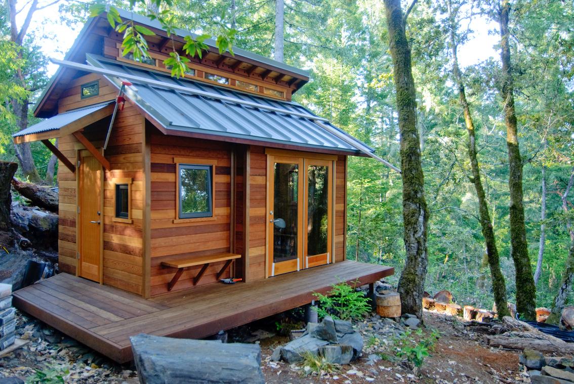 tiny house forêt