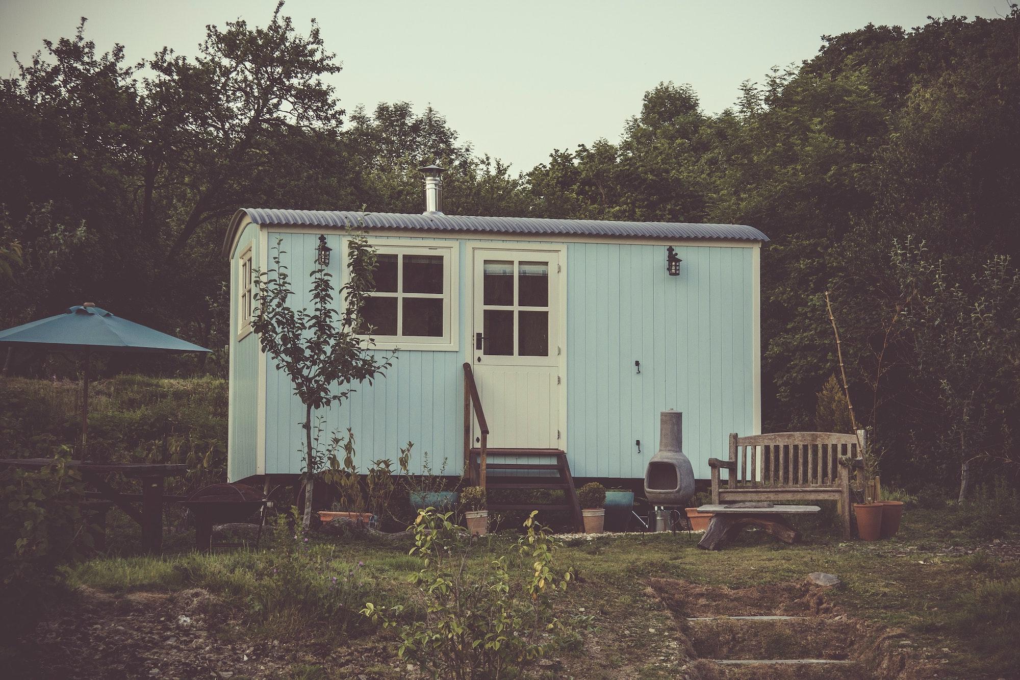 remorque tiny house