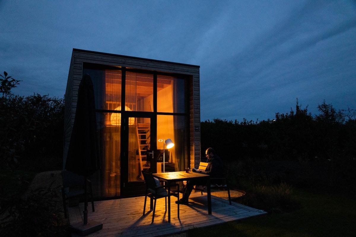 raccordement tiny house